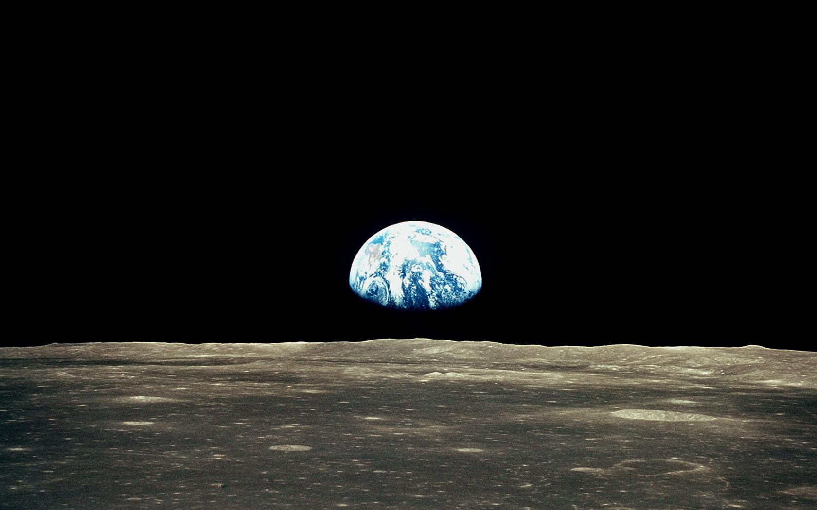 earth like moon - HD1680×1050